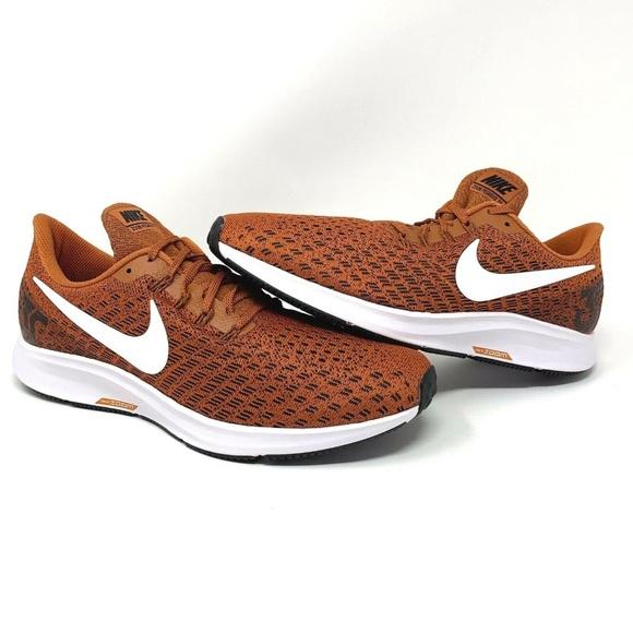 quality design 59852 3ef78 Nike Air Zoom Pegasus 35 UT Orange Running Shoes NWT